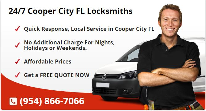 24 Hour Locksmith Cooper City FL